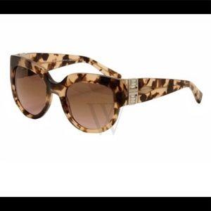 MK Sunglasses Blush Tortoise w/Rose Gradient